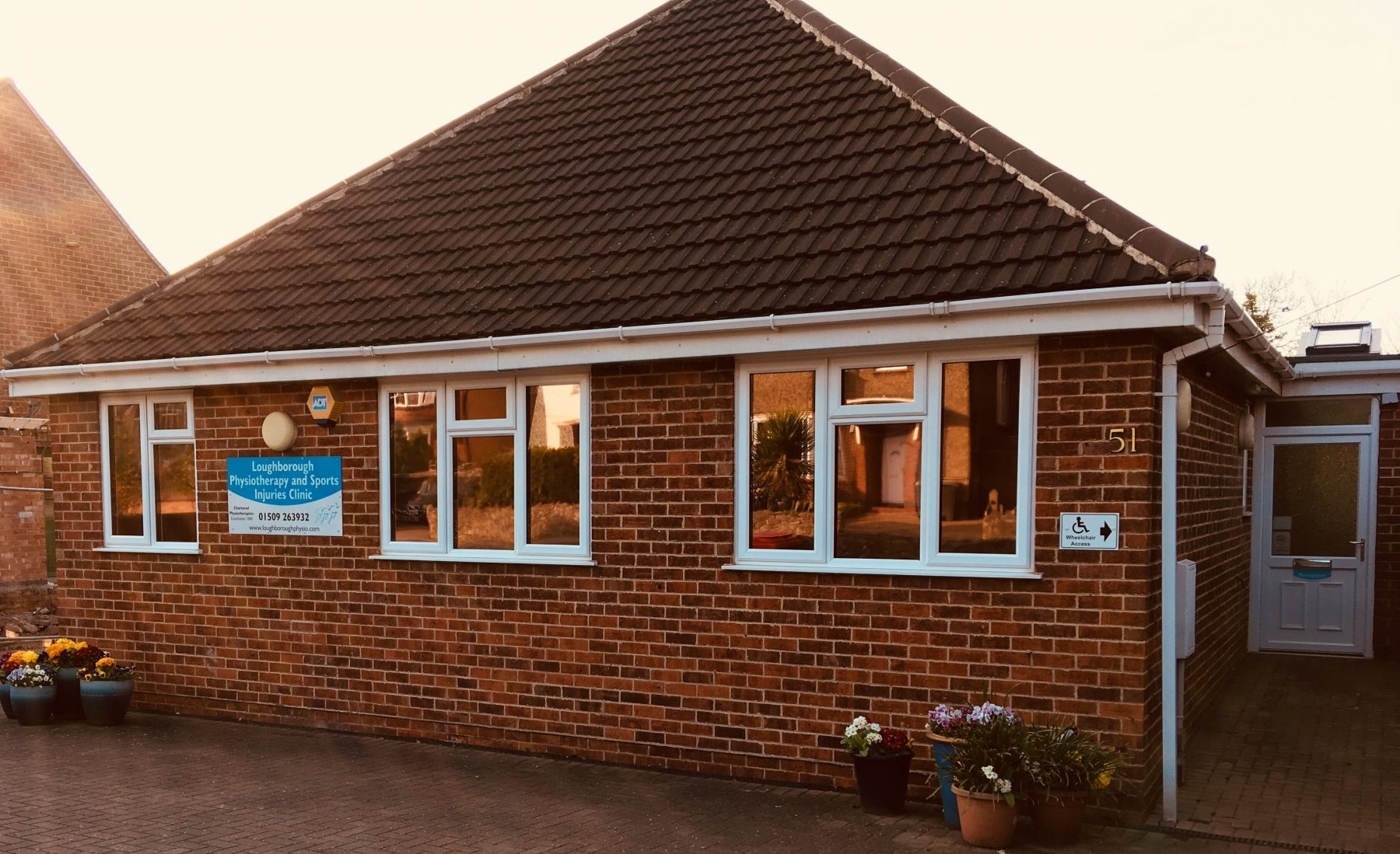 Loughborough Physiotherapy and Sports Injuries Clinic accessible