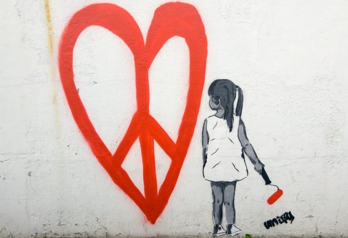 PEACE do no HARM! and then LOVE